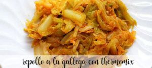 Repollo a la gallega con thermomix