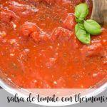 salsa de tomate con thermomix