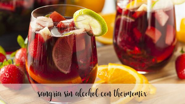 sangria sin alcohol con thermomix