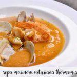 Sopa marinera asturiana con Thermomix