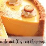 Tarta de natillas con thermomix