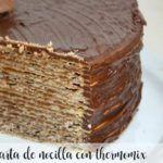 tarta de nocilla con thermomix