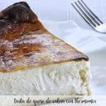 Tarta de queso de cabra con Thermomix