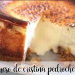 Tarta de queso de Cristina Pedroche con thermomix