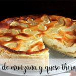 Tarta de manzana y queso con Thermomix