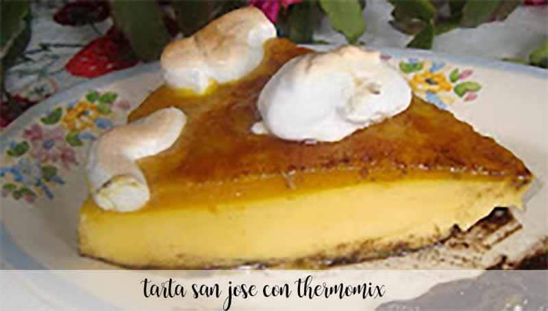 Tarta de San José con Thermomix