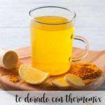 té dorado con thermomix