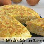 Tortillas de coliflor con thermomix