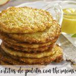 tortitas de patata con thermomix