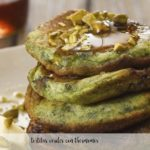 Tortitas verdes con thermomix