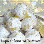 trufas de limon con thermomix