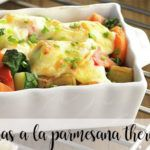 Verduras a la parmesana con Thermomix